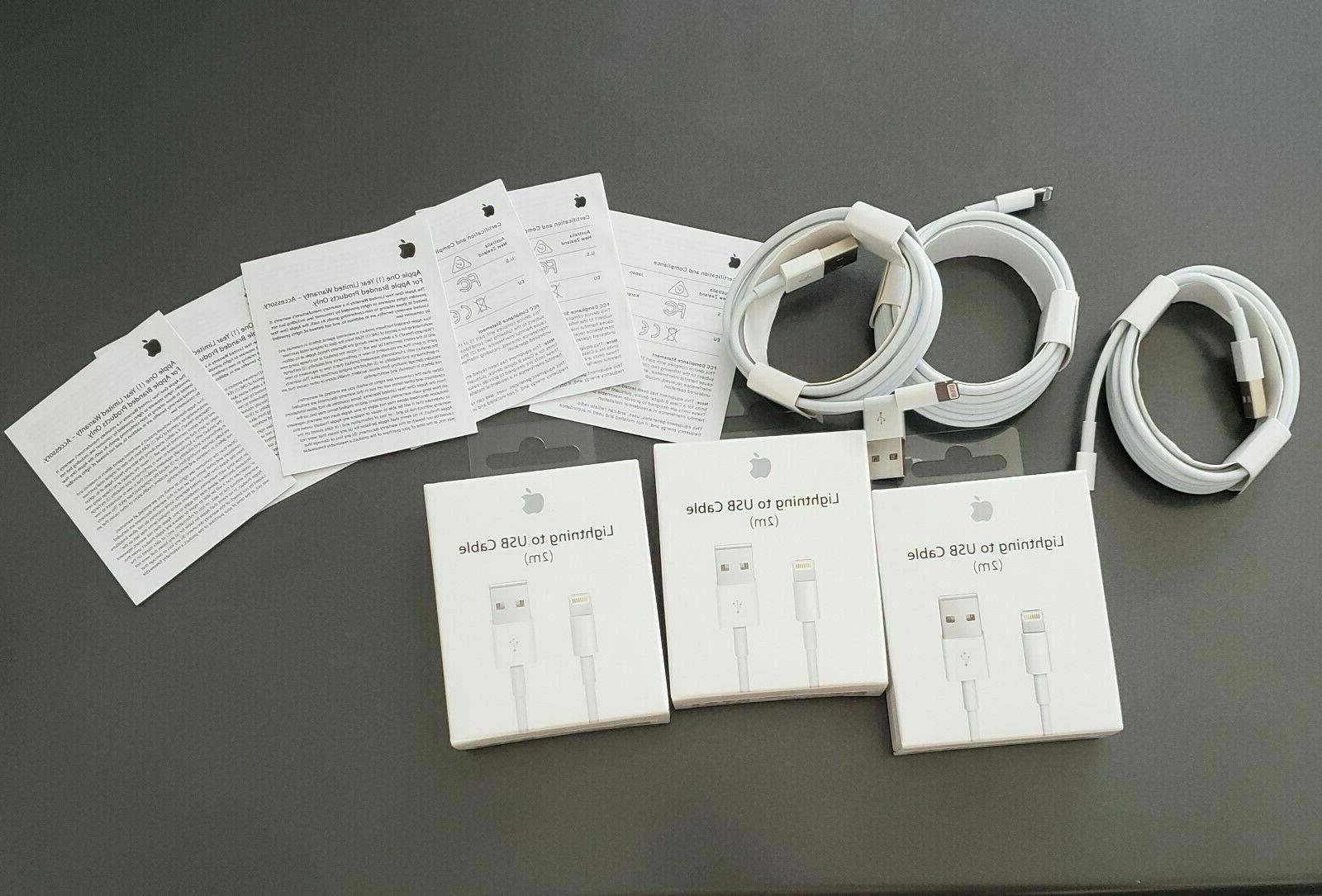 EXTRA LONG Lightning For Apple iPhone OEM 6FT