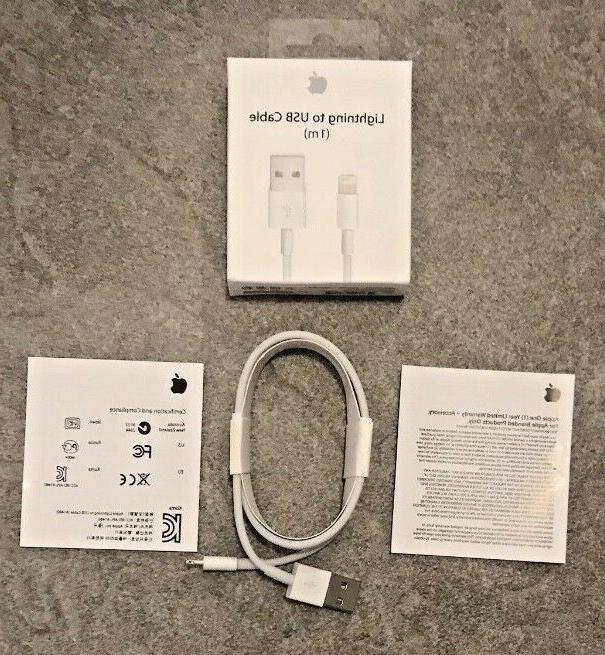 Genuine Apple to USB Cable iPhone 6+ 6S, 7 3ft