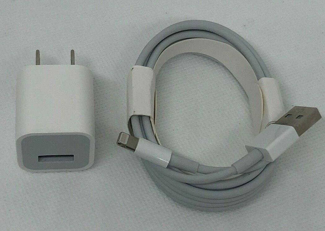 Genuine OEM Charger Adapter and Lightning Cable For Apple iP