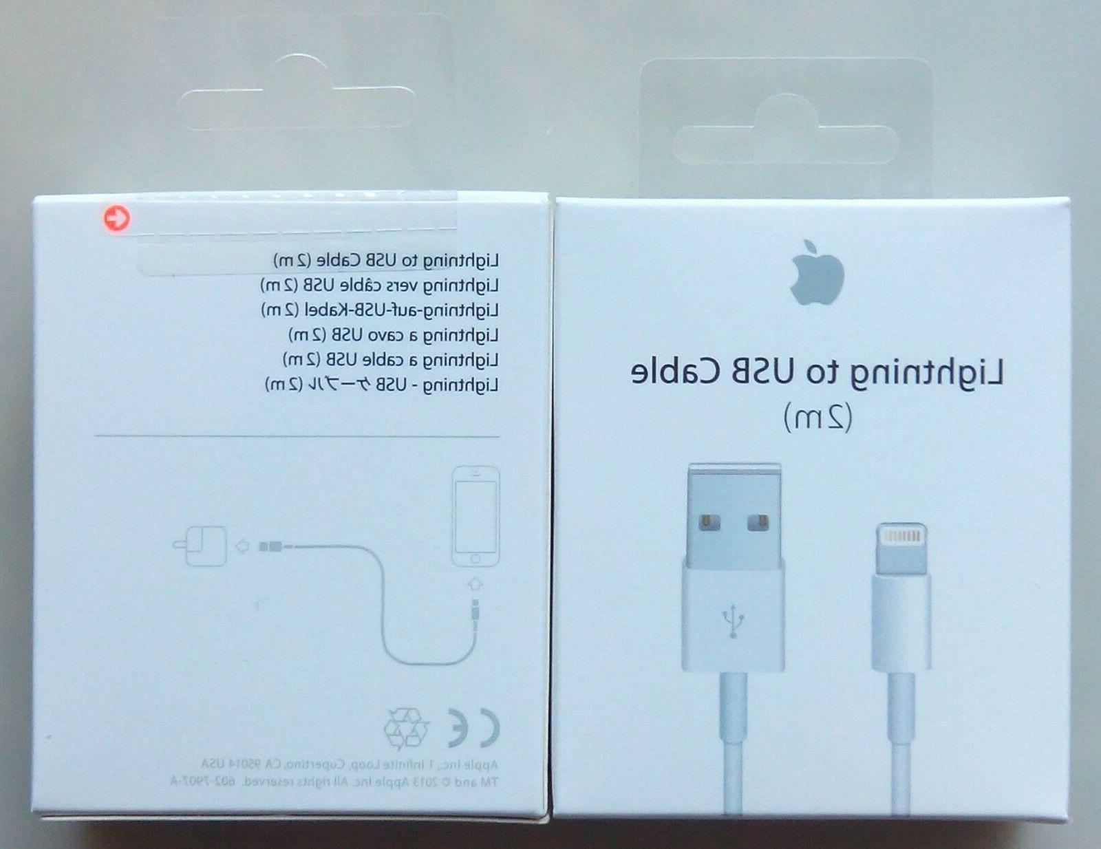 Genuine X 7 plus Lightning USB Cable Charger 2M/6F
