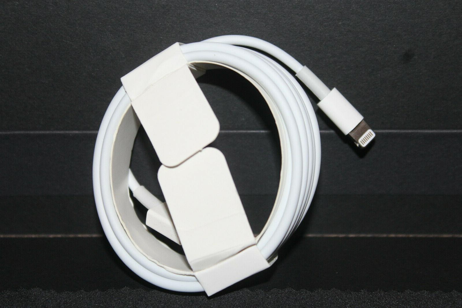 Genuine OEM Original Apple iPhone Lightning Cable Charger Cord USB