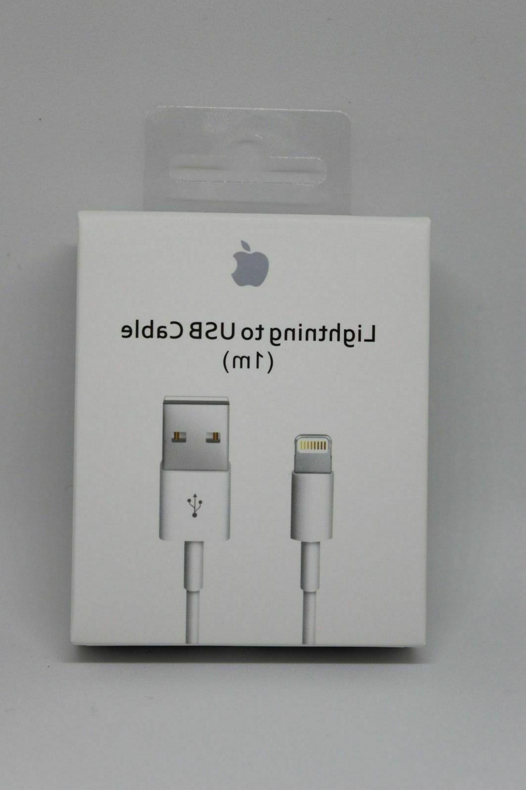 genuine original lightning to usb charge cable