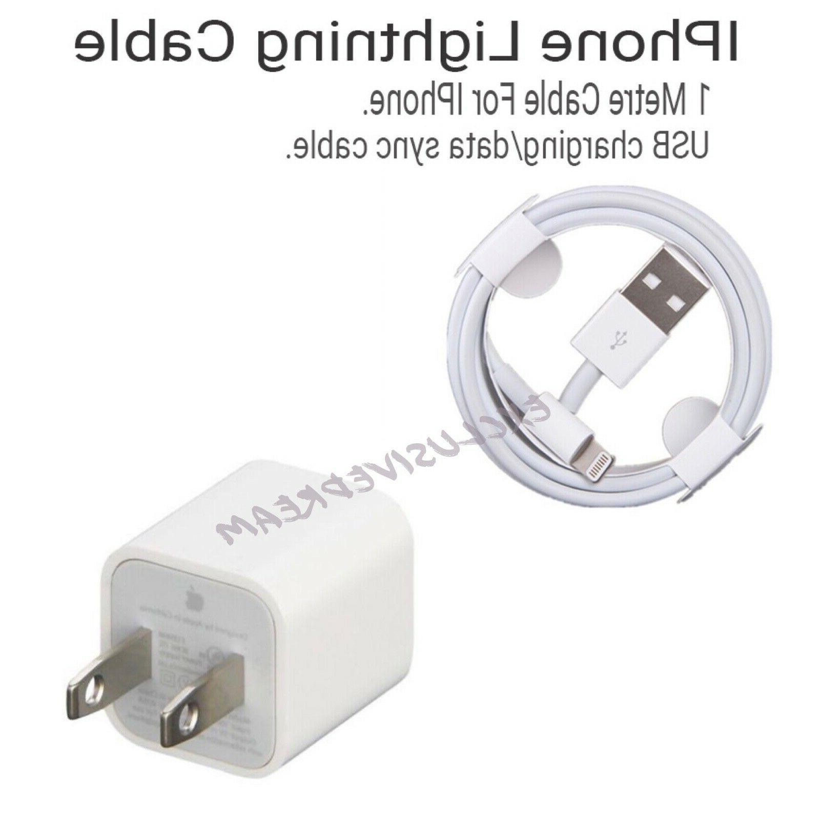 Genuine OEM Apple Lightning USB Charger Cable Cord iPhone 6 8