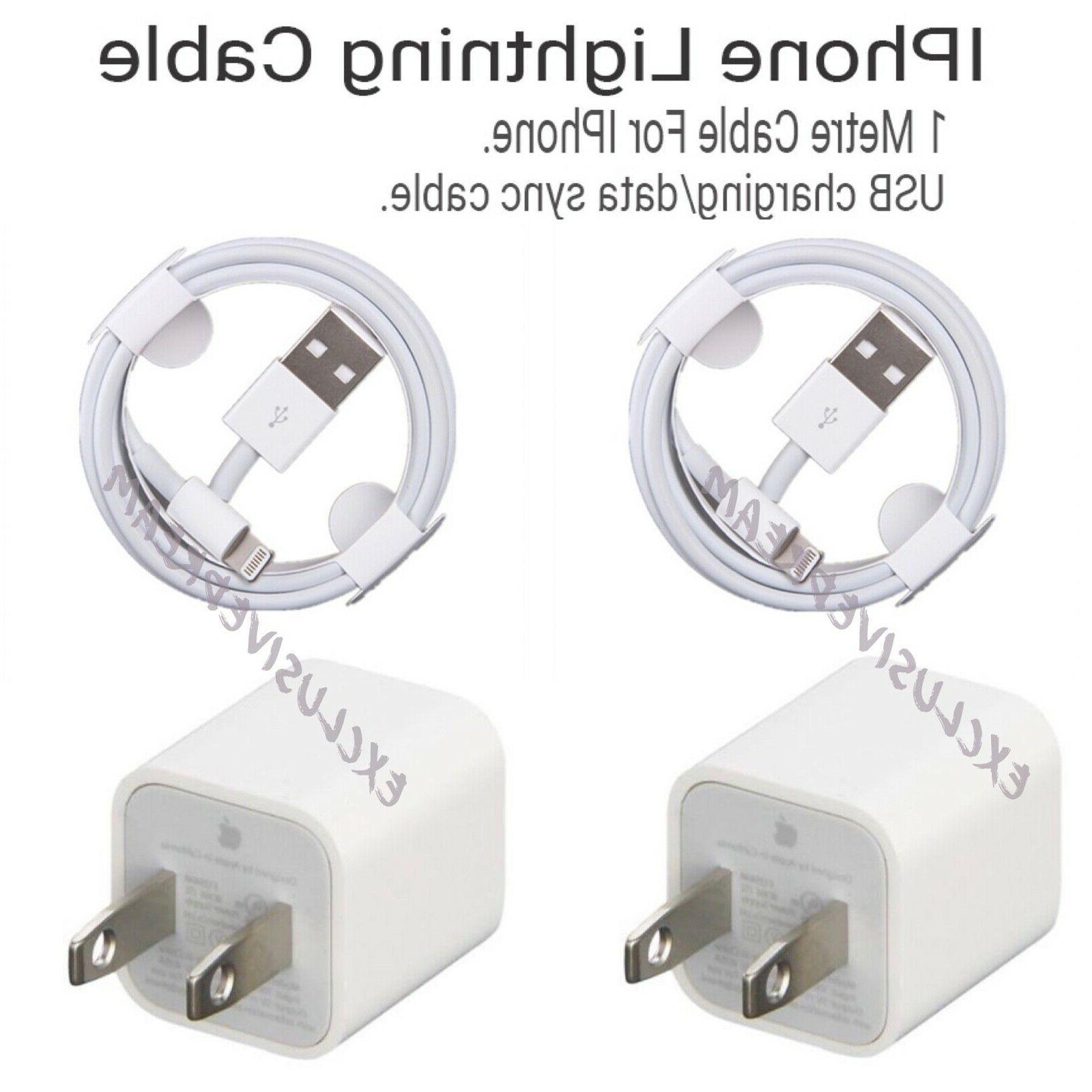 Genuine Original Lightning USB Charger Cable Cord iPhone 8
