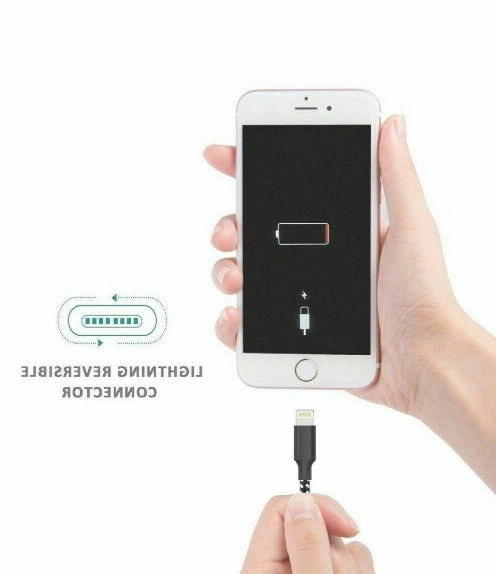 USB Braided Cord OEM iPhone 8 Xs 11 Charger