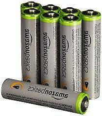 HOT AmazonBasics AAA High-Capacity Rechargeable Batteries Pr