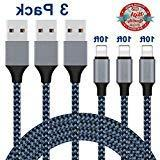 iPhone Charger,Lightning Cable 3Pack 10Ft Sundix iPhone Char