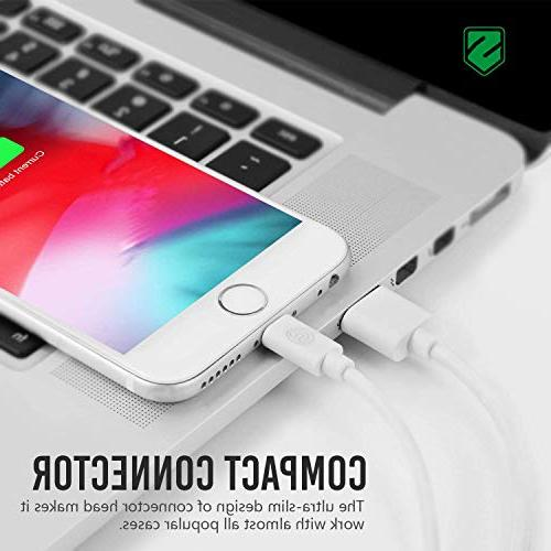 Atill iPhone 6Pack 3FT Cable Charging XR 8 7 Plus 5 5c iPad iPod