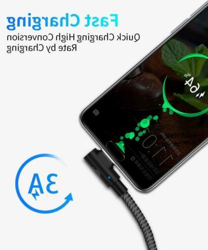 LED Magnetic C Micro Fast Charging Android
