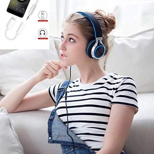 Headphones/Earbuds Adapter Cable Earphones/Headsets with iPhone X 7 7 iPod