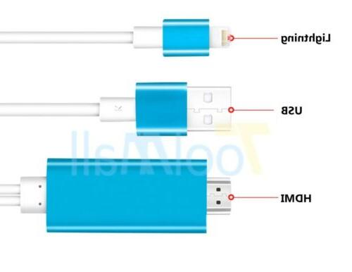 Lightning 8 to HDMI Cable Digital Adapter Apple