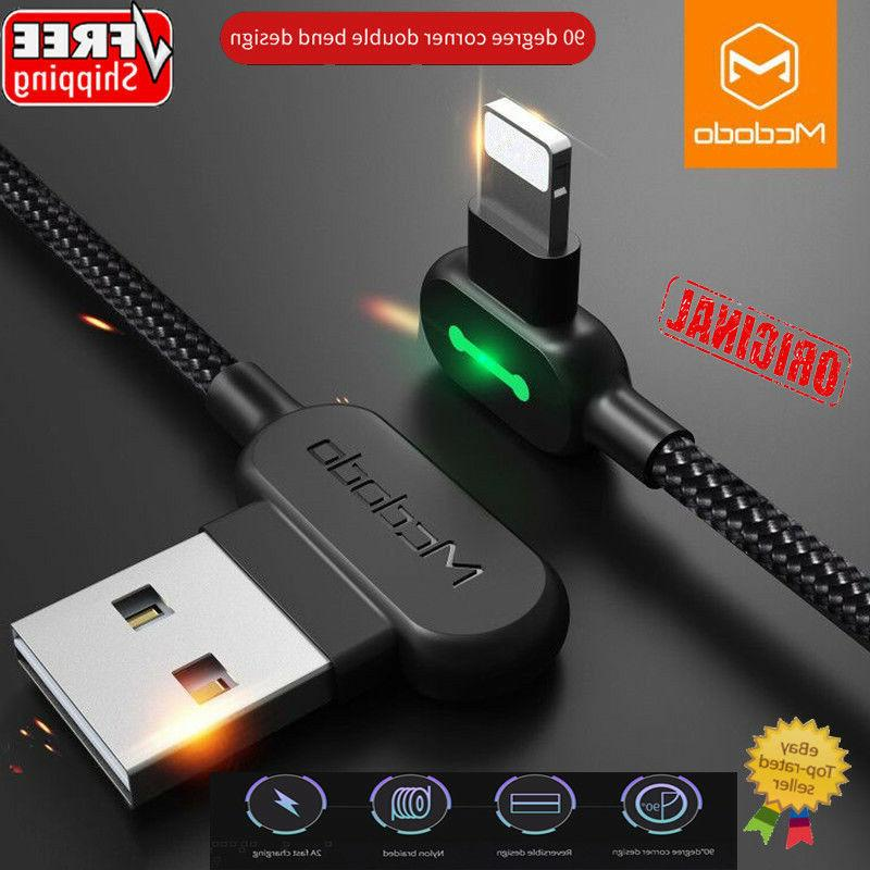 lightning bolt smart braided charging cable fast