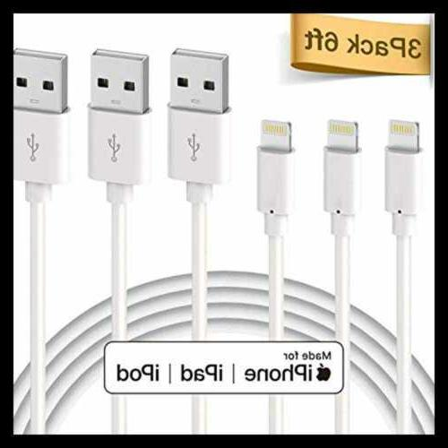 Lightning Cable Apple Mfi Certified Premium To 6Ft