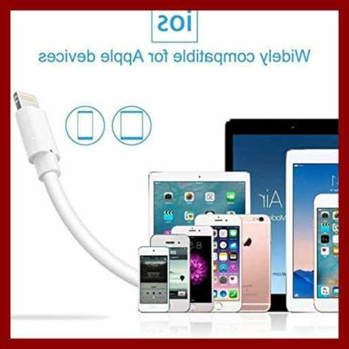 Lightning Cable Certified 3Pack To A Charger 6Ft WHITE