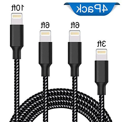 lightning cable extra long nylon