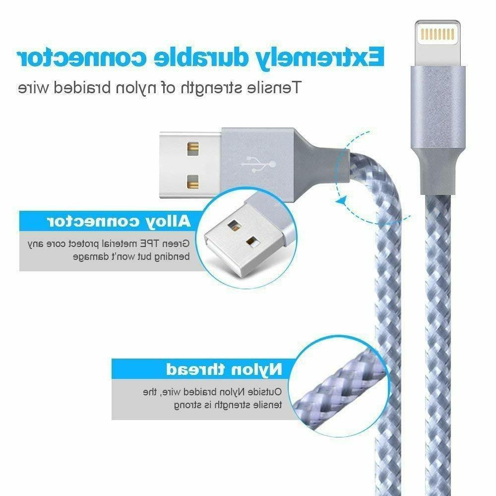 3Pack Heavy Duty Charging Cord