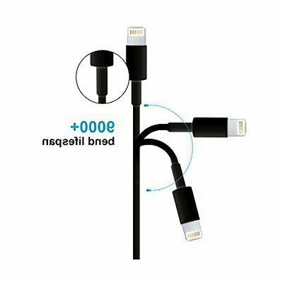 Lightning 3ft,SMALLElectric iPhone Charge 5Pack iPhone Charging