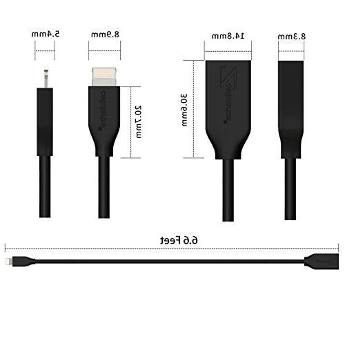 Lightning Extension 8 Cable 8, iPad; Video,