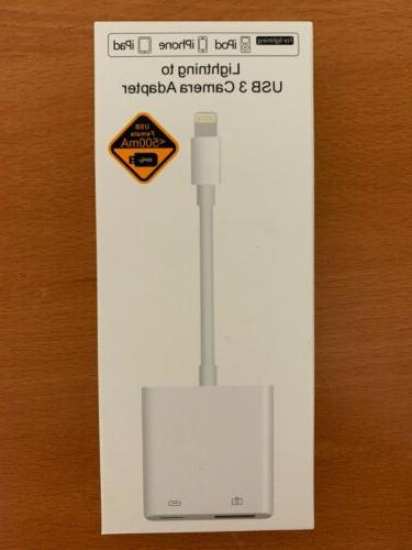 suitable for apple lightning to usb 3