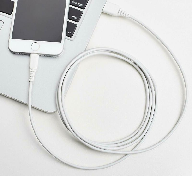 Lightning Cable iPhone Charger White, 6-Foot,