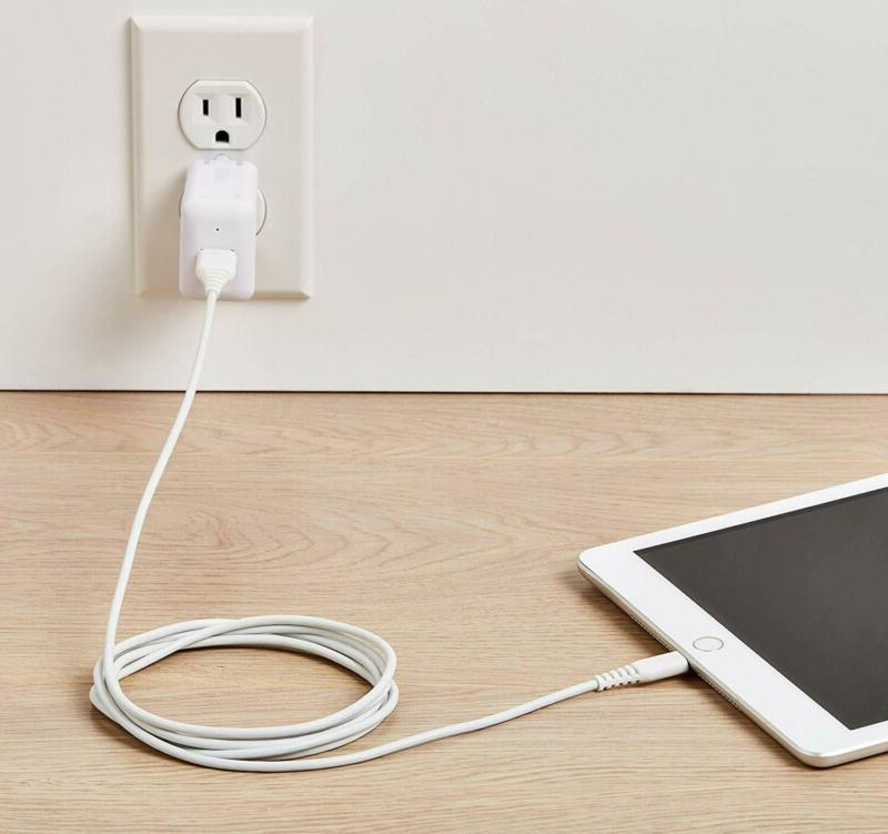 Lightning to Cable MFi iPhone Charger 6-Foot,