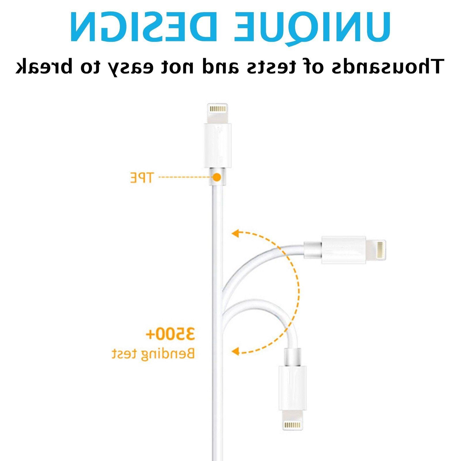 Lightning USB Cable XS X 8 7 S Plus