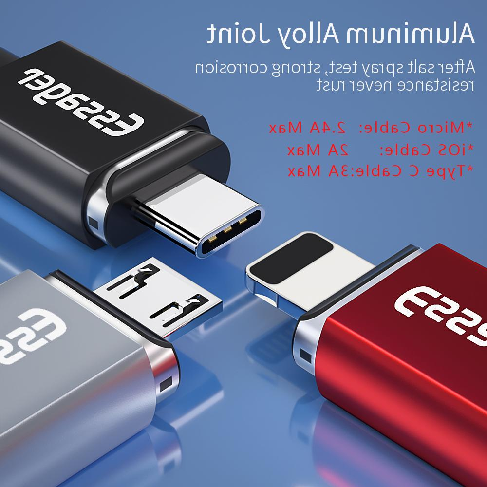 Essager Magnetic Micro <font><b>Cable</b></font> For Samsung Fast Charging Data Cord Type C Phone
