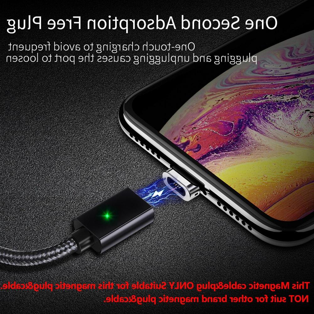 Essager <font><b>Cable</b></font> For iPhone Samsung Fast Data Cord Magnet Charger USB Type Phone