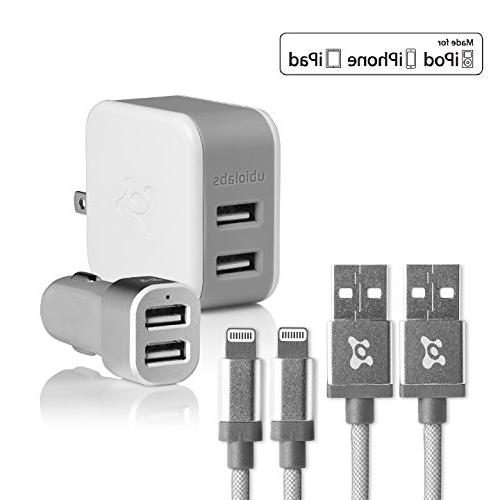 mfi certified lightning cable kit