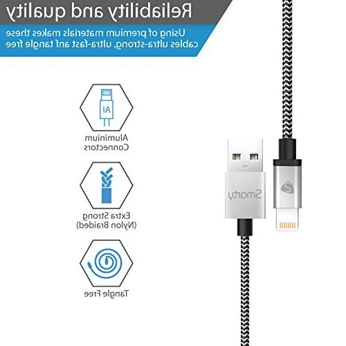 mfi certified lightning cable nylon