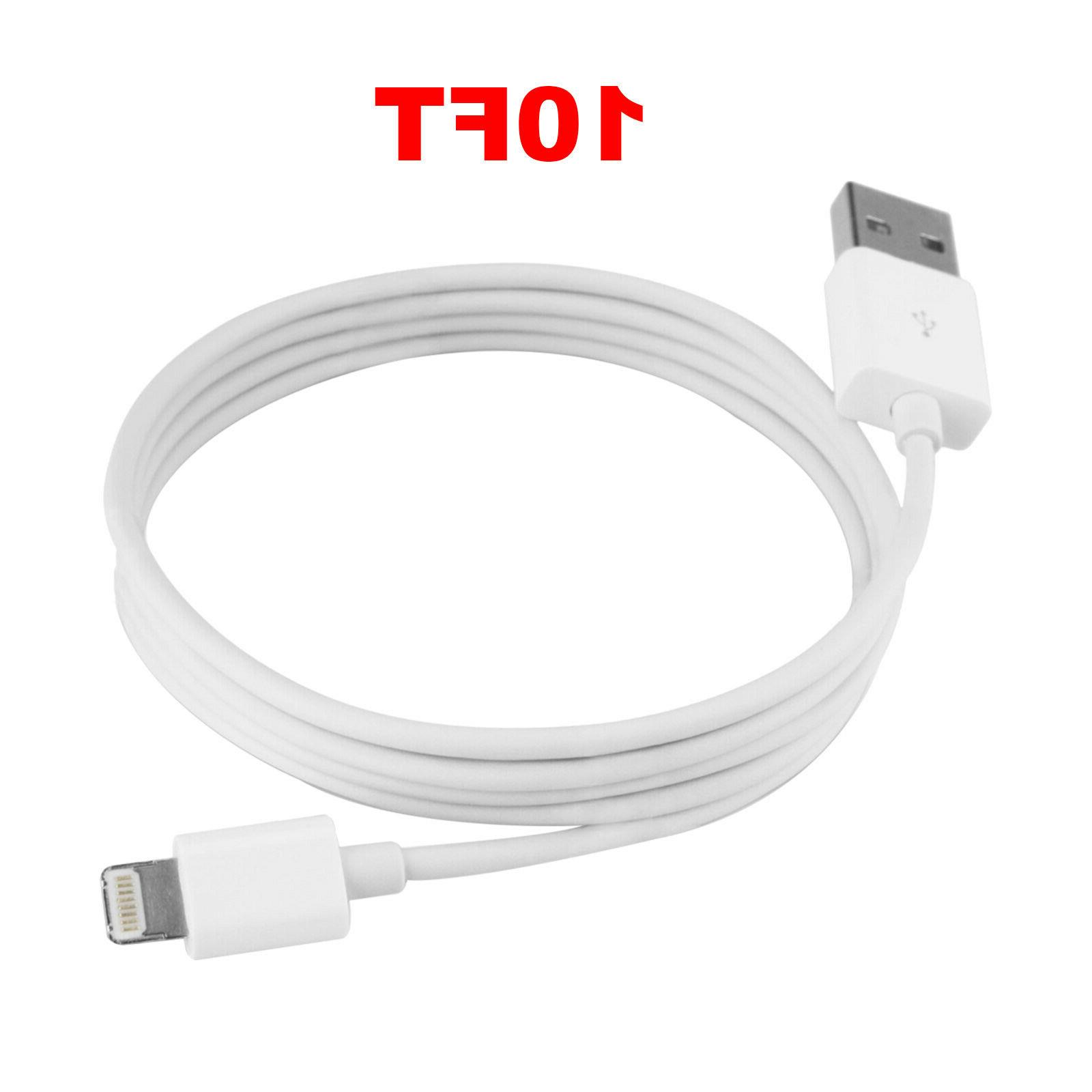 New for Lightning Charger Cable 7 Plus X XS 6ft 10ft