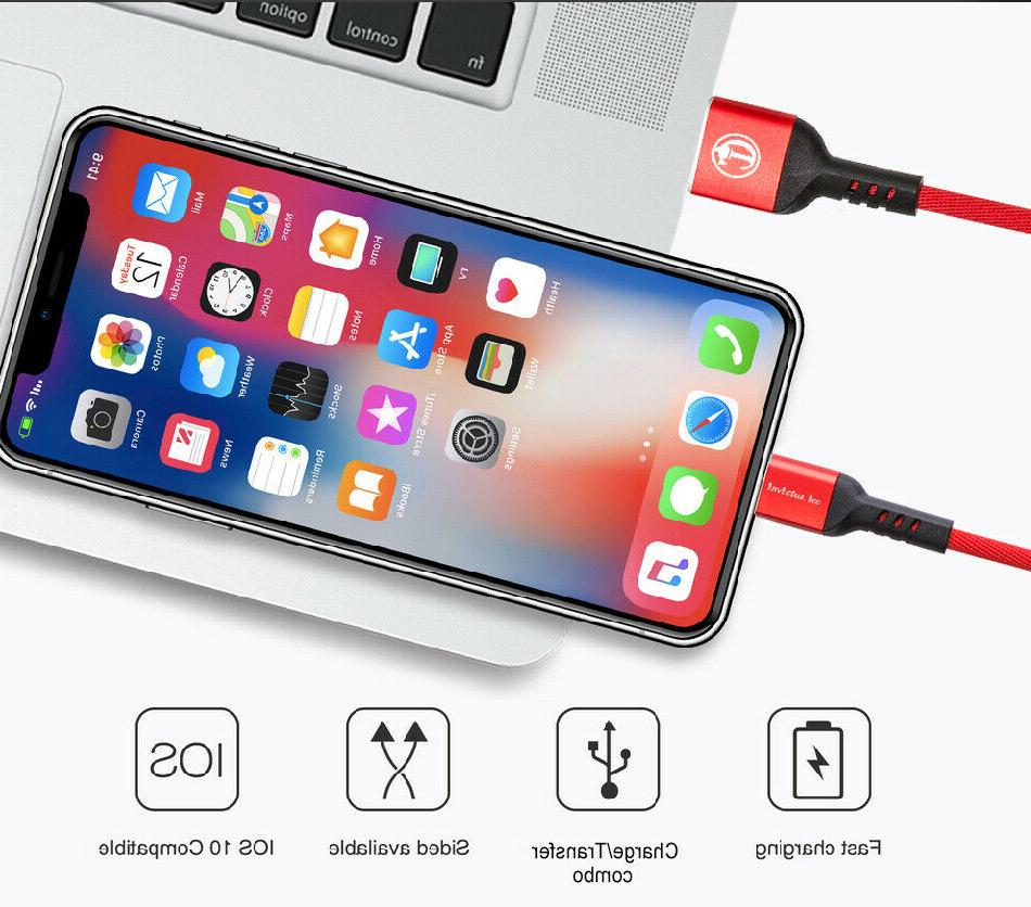 New iPhone Lightning Cable 6 7 8 X XR