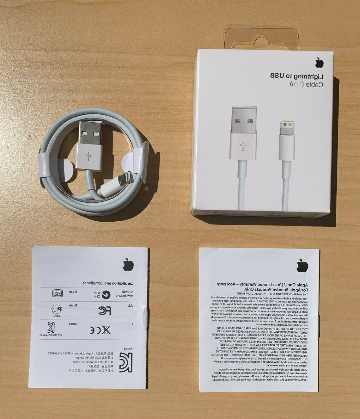 original iphone charger oem genuine lightning usb