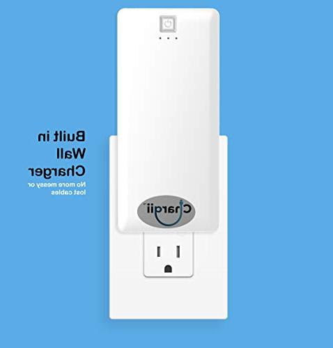 Portable Charger in Lightning Cable Plug AC Micro USB USB External Power Phone