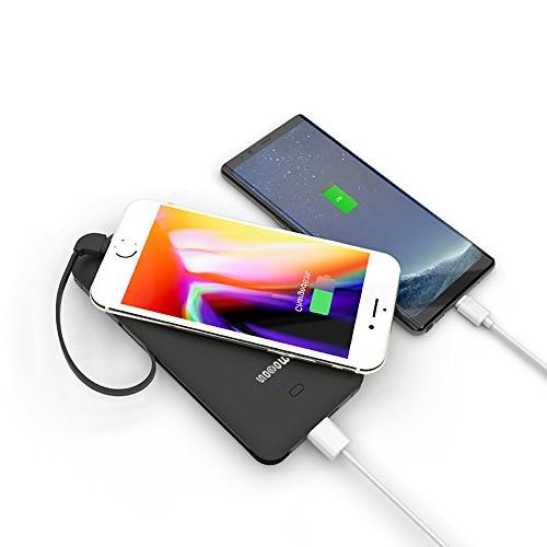 wobon Charger Battery Ultra with Built-in and Micro Lightning