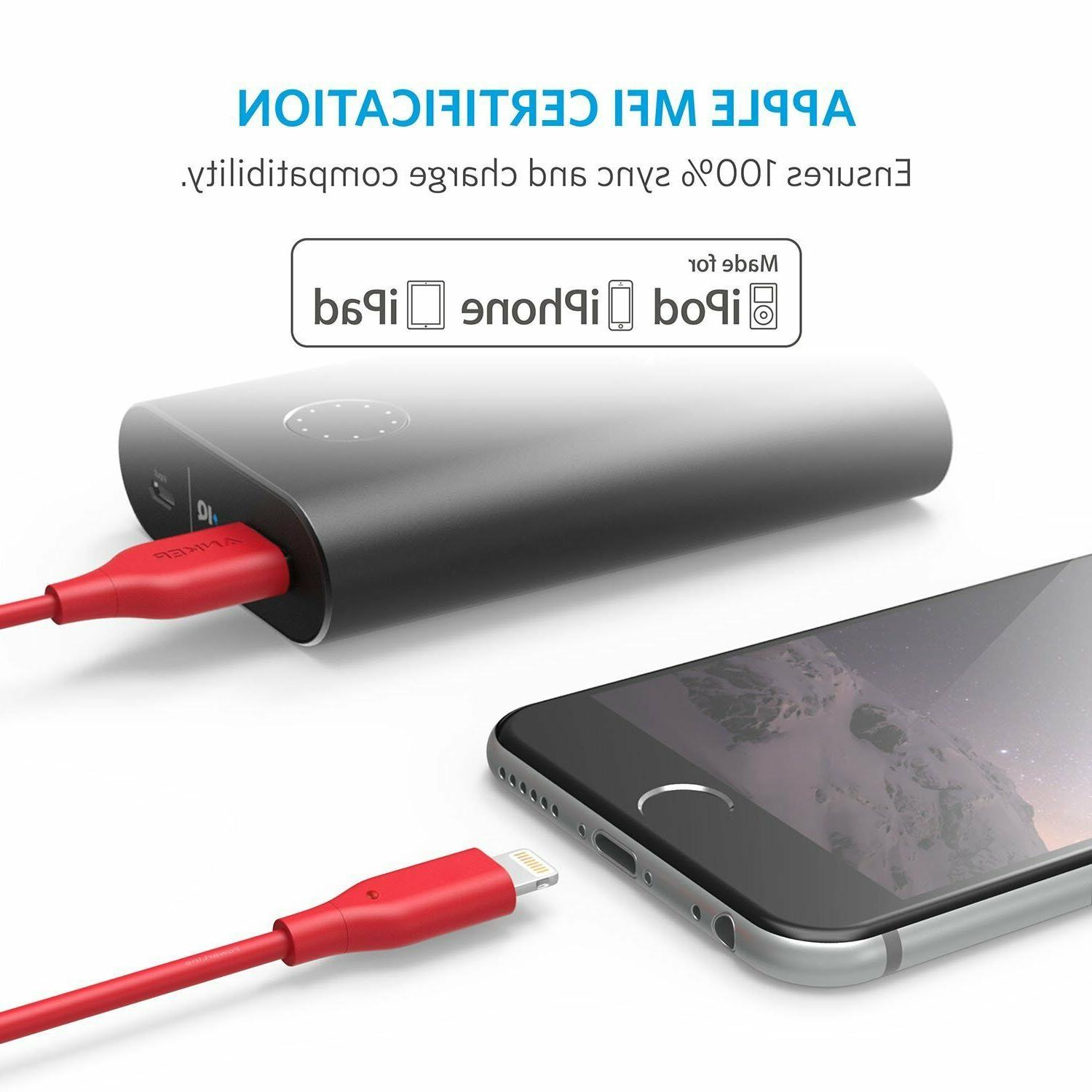 Cable, Certified for iPhone X / 8 / 8 7