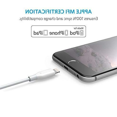 Anker Lightning Cable, MFi iPhone 8/8 / Plus / / / and