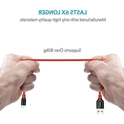 Anker Powerline+ Lightning Cable Durable and Cable iPhone Xs/XS Max/XR/X / / Plus 6/6 Plus / and More