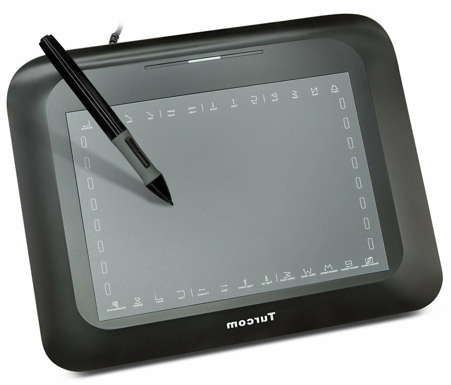 Turcom TS-6608 Graphic Tablet Drawing Tablets and Pen/Stylus