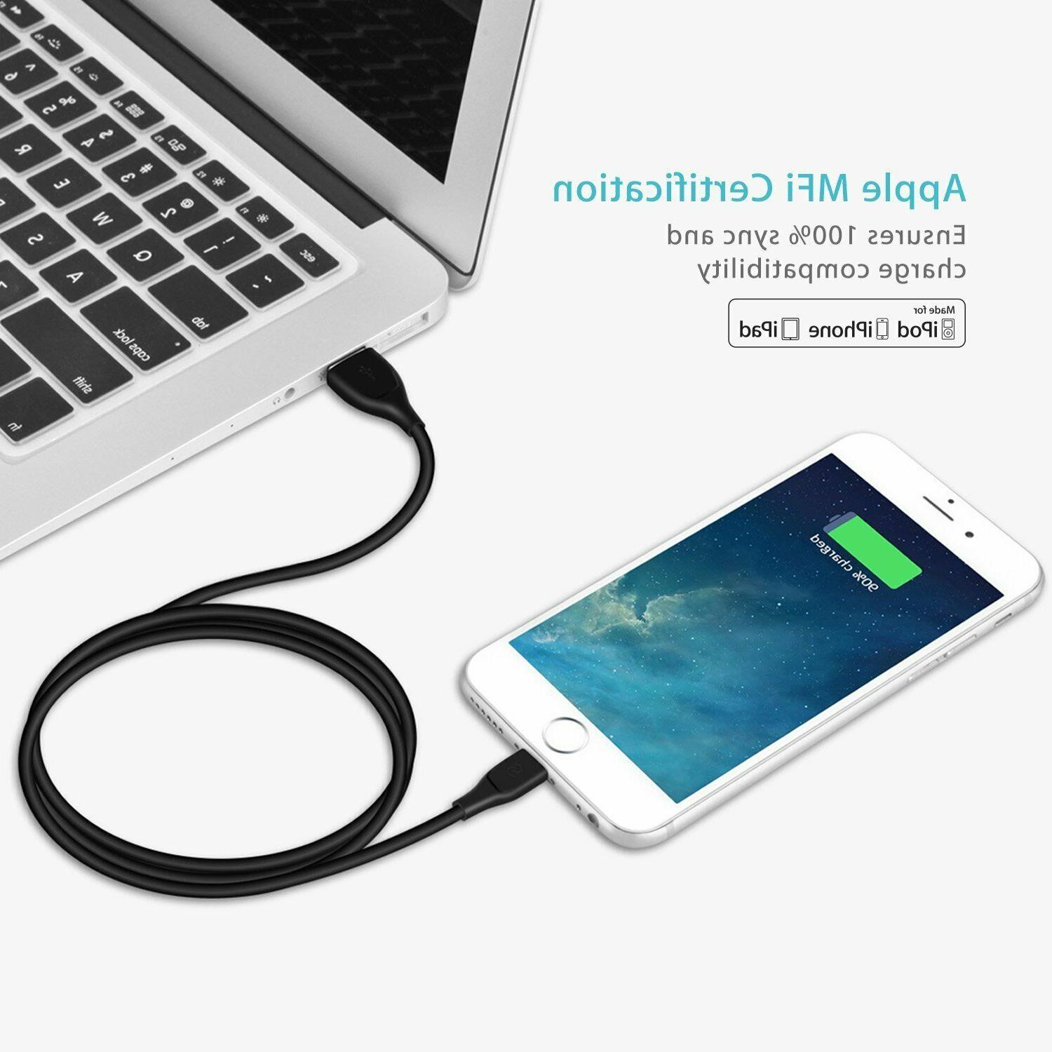 UNBREAKcable Lightning Cable iPhone Charger for iPhone Xs 6