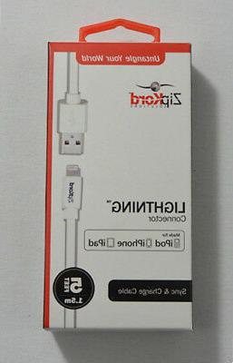 zipkord data cable for apple lightning devices