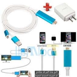lightning 8 pin to hdmi cable hdtv