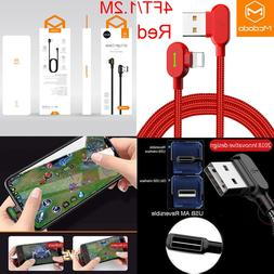 Mcdodo Lightning Bolt Smart Led Fast Charging Cable Charger