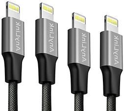 Lightning Cable, Anylink iPhone Cord 4 Pack Assorted Lengths