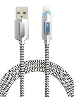Lightning Cable with LED Light, TITACUTE 3.3FT Lightning to