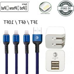 Lightning Cable Heavy Duty For iPhone  8 7 6 Plus Charger  C
