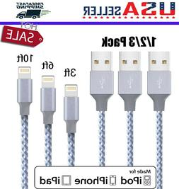 Lightning Cable Heavy Duty For iPhone 8 7 6 Plus iPhone X XS