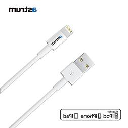 Astrum 4 Feet  8-Pin Lightning Cable to USB Charge and Sync