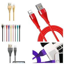 Braided USB  Charger Cable for iPhone 11 xmax x 7 8 Plus XR