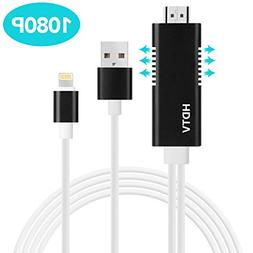 Lightning to HDMI, Baseus HDMI to Lightning Cable Adapter  S